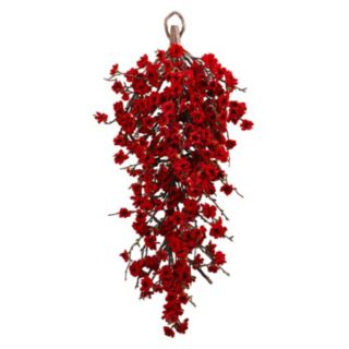 nearly natural Artificial Plum Blossom Teardrop Decor