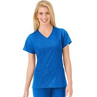 Women's Jockey Scrubs Classic Solid Illusion Top