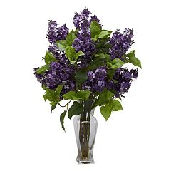 nearly natural Artificial Lilac Arrangement