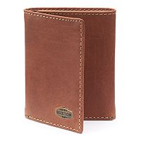 Buxton Expedition RFID-Blocking Leather Trifold Wallet