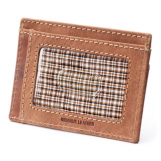 Buxton Expedition RFID-Blocking Leather Front-Pocket Wallet