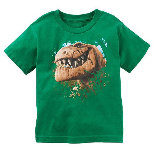 Disney / Pixar The Good Dinosaur Toddler Boy Puff-Print Tee