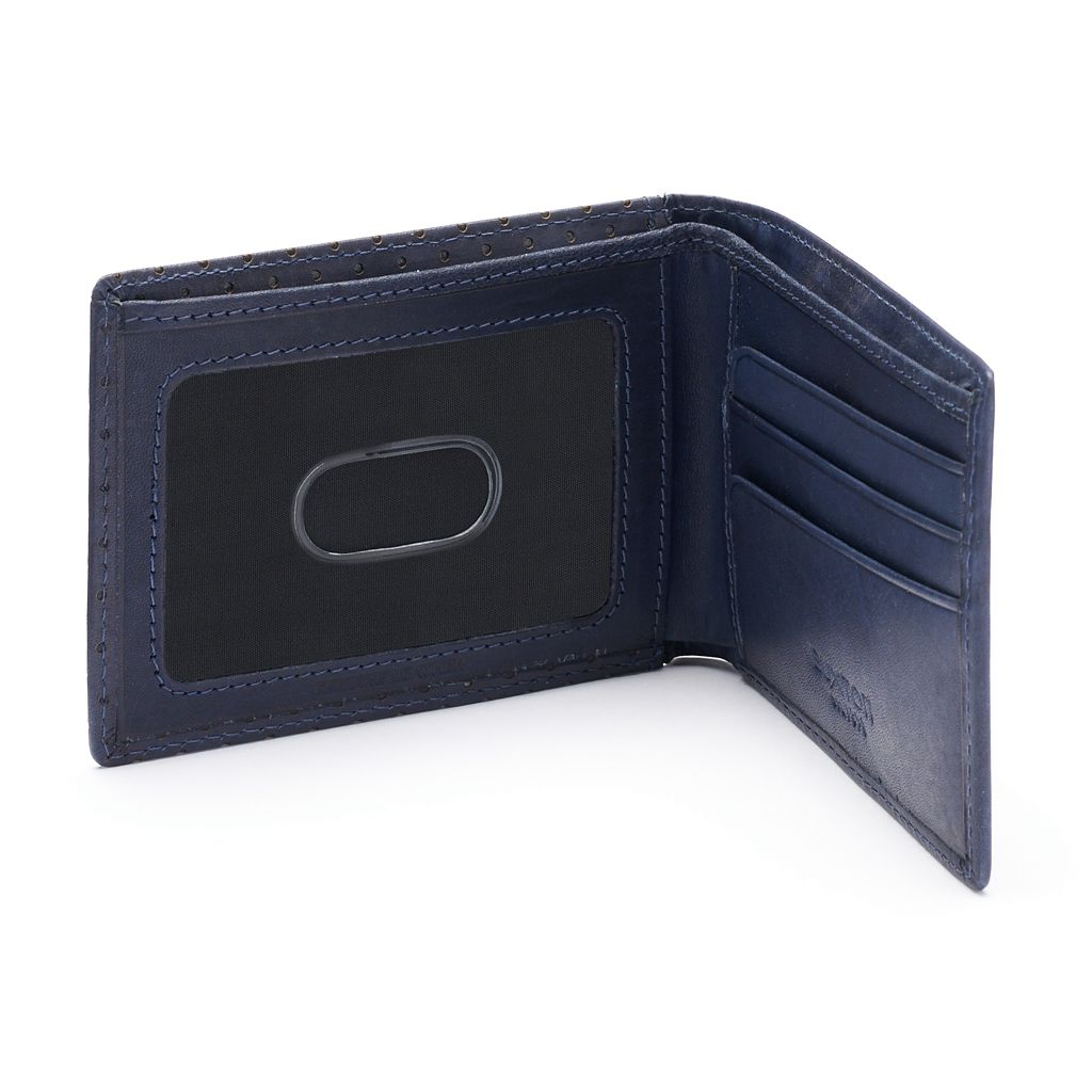 Buxton Cooper Front-Pocket Leather Slimfold Wallet