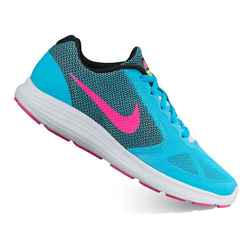 80024a022525 Nike Revolution 3 Grade School Girls  Running Shoes