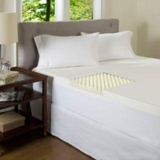 ComforPedic Beautyrest 3-inch Textured Memory Foam Topper