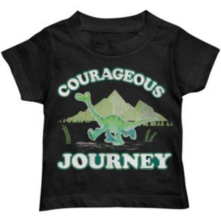 "Disney / Pixar The Good Dinosaur Boys ""Courageous Journey"" Arlo Tee"