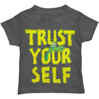 "Disney / Pixar The Good Dinosaur Boys ""Trust Yourself"" Arlo Tee"