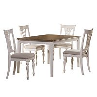 Hillsdale Furniture Bayberry Rectangular Dining Table 5 pc Set