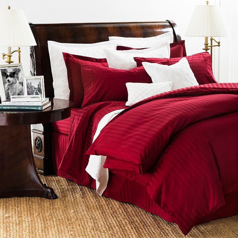 Chaps Damask Stripe 500 Thread Count Comforter Set