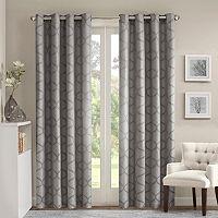 Madison Park Vella Jacquard Ogee Window Curtain