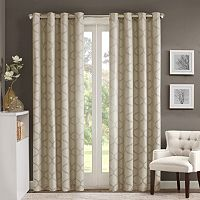 Madison Park Vella Jacquard Ogee Window Curtain