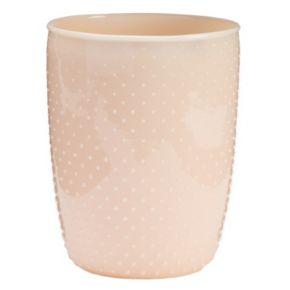LC Lauren Conrad Milk Glass Waste Basket