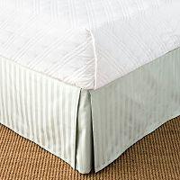 Chaps Damask Stripe Bed Skirt