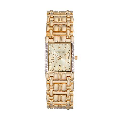 Men's Geneve Diamond Watch