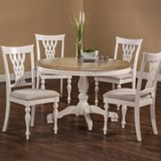 Hillsdale Furniture Bayberry Round Table 5 pc Dining Set