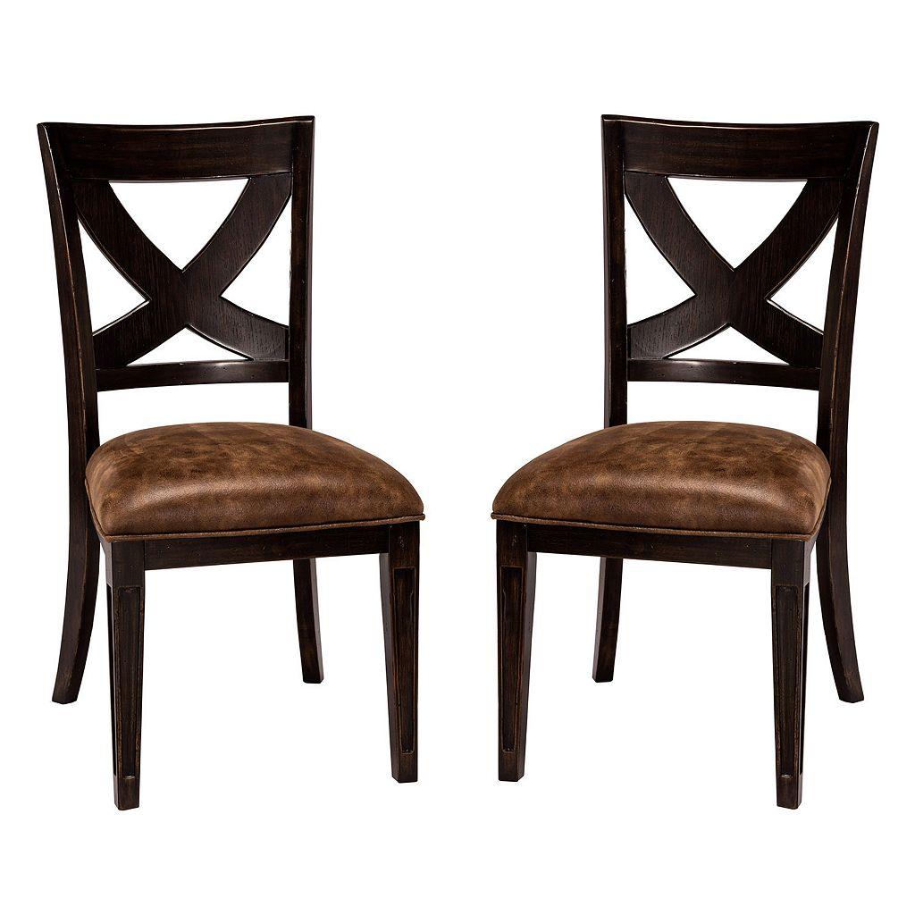 Hillsdale Furniture Sante Fe Dining Chair 2-piece Set