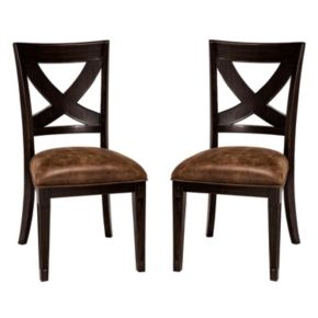 Hillsdale Furniture Sante Fe Dining Chair 2-piece Set