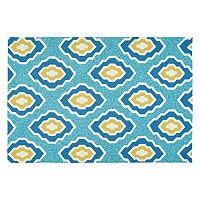 Kaleen Escape Geometric Diamond Indoor Outdoor Rug