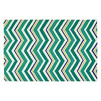 Kaleen Escape Chevron Indoor Outdoor Rug