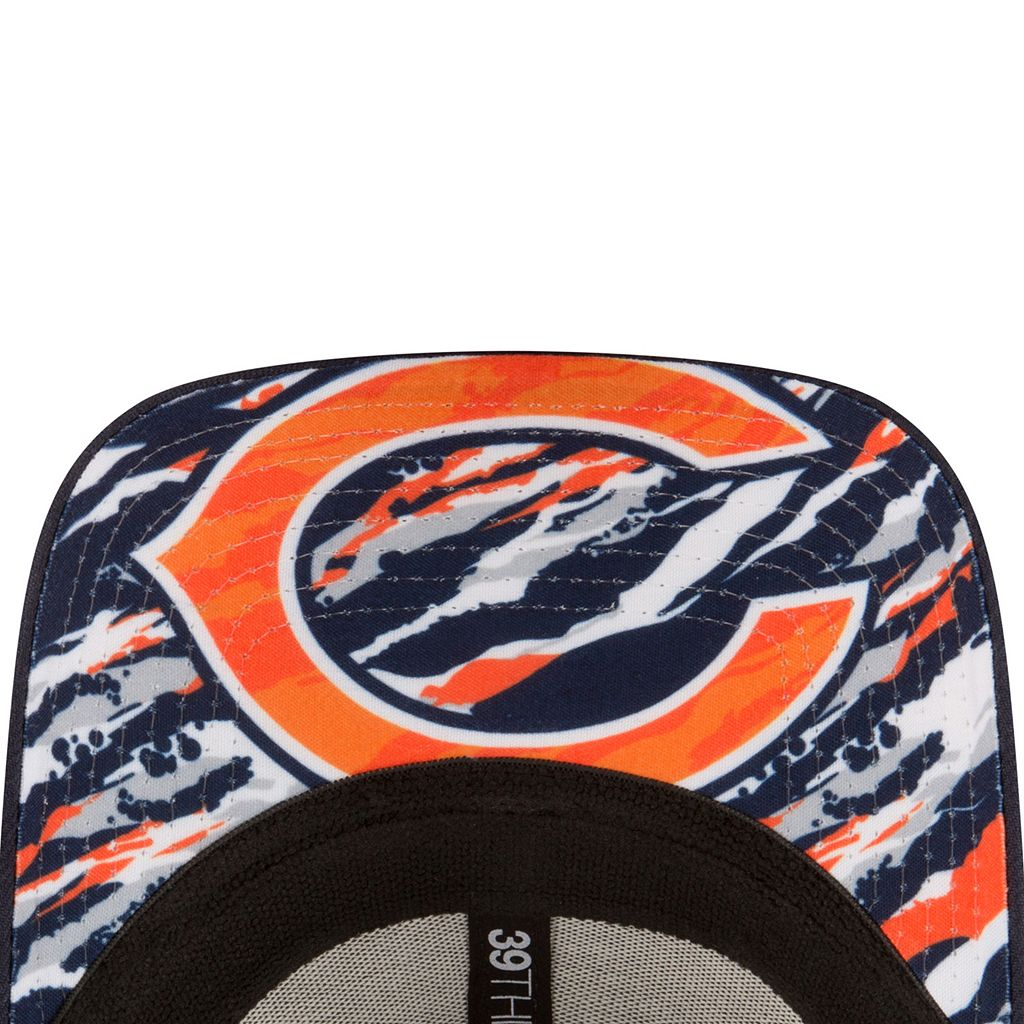 Adult New Era Chicago Bears 2016 NFL Draft 39THIRTY Flex-Fit Cap
