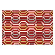 Kaleen Escape Mod Geometric Indoor Outdoor Rug