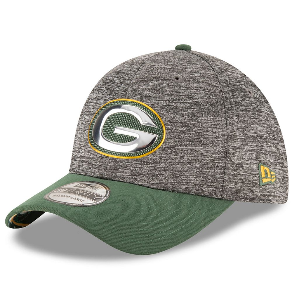Adult New Era Green Bay Packers 2016 NFL Draft 39THIRTY Flex-Fit Cap 0a39a6a36d9