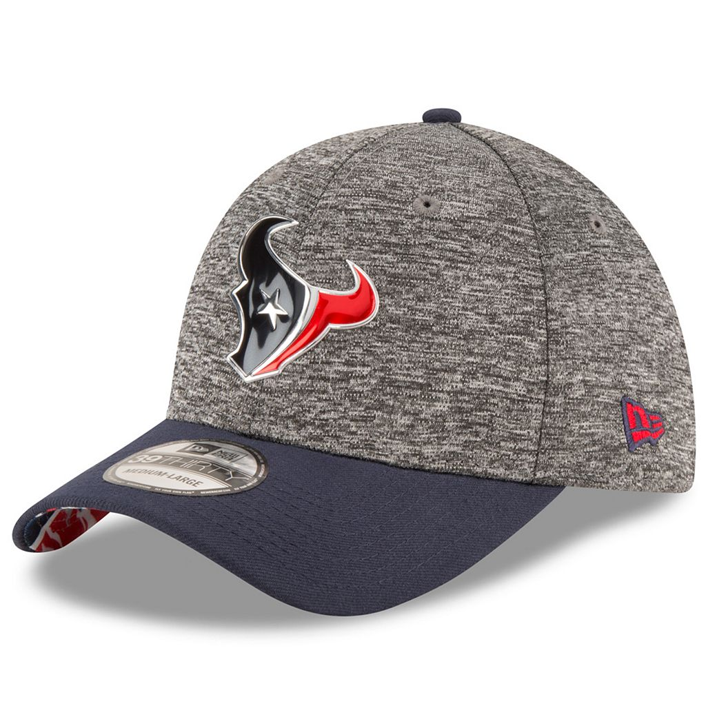 Adult New Era Houston Texans 2016 NFL Draft 39THIRTY Flex-Fit Cap