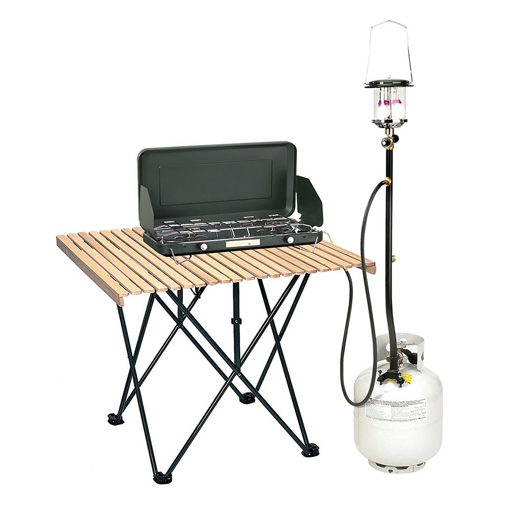 Stansport 30-Inch 3-Outlet Propane Distribution Post