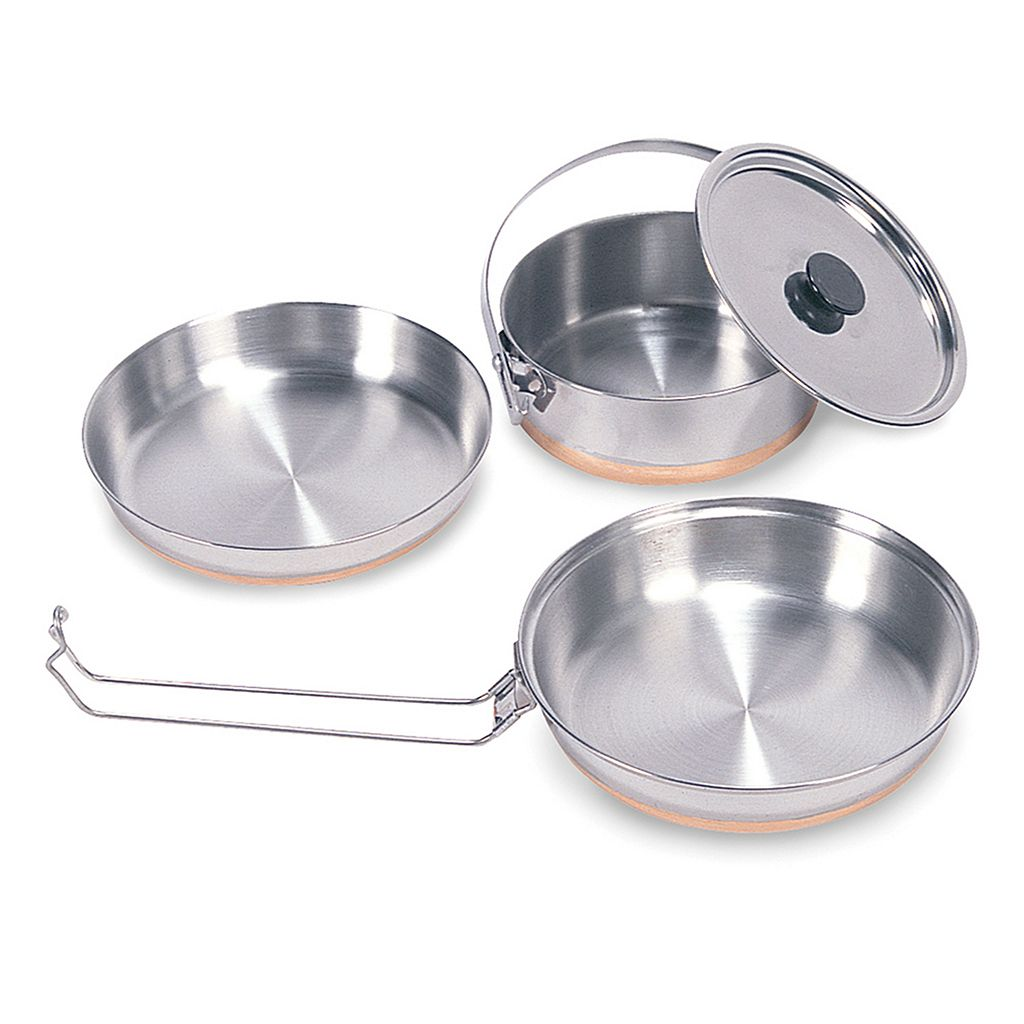 Stansport Stainless Steel Camping Mess Kit
