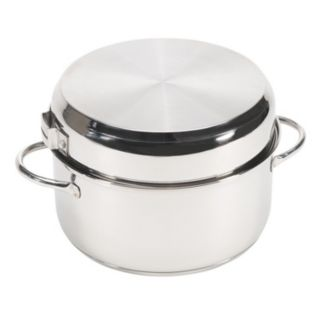 Stansport Stainless Steel Family Camping Cookware Set (7-Piece)