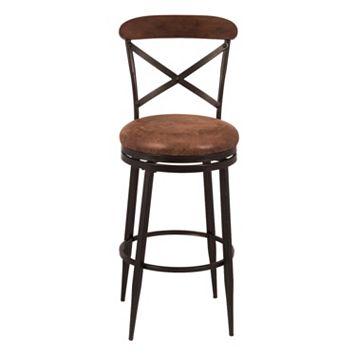Hillsdale Furniture Henderson Swivel Bar Stool