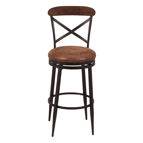 Hillsdale Furniture Henderson Swivel Bar Stool