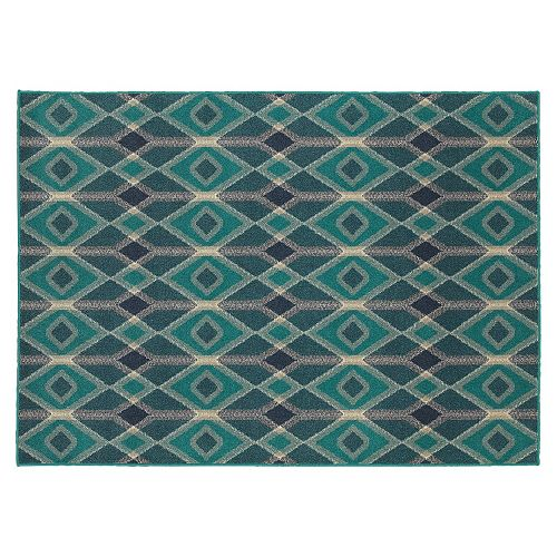 StyleHaven Harrison Geometric Diamond Rug