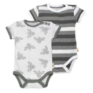 Burt's Bees Baby 2-pk. Organic Print Bodysuits