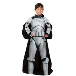 Star Wars Being Stormtrooper Comfy Throw - Kids