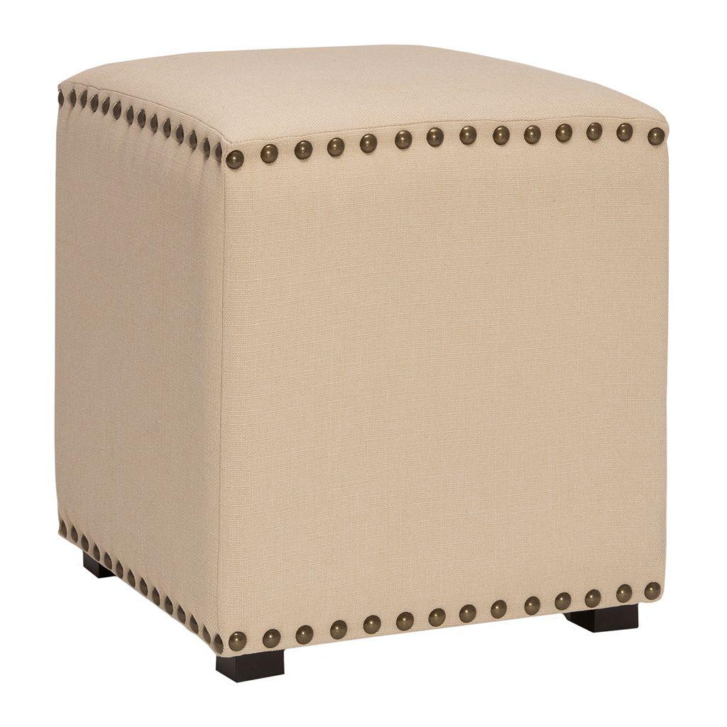 Hillsdale Furniture Evis Backless Vanity Stool