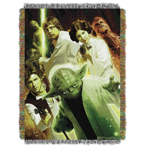 Star Wars Small Rebel Force Tapestry Throw