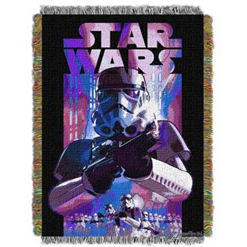 Star Wars Storm Ahead Tapestry Throw