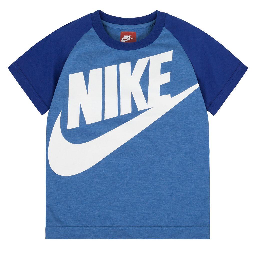 Boys 4-7 Nike Raglan Tee