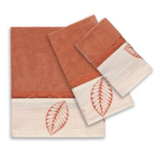 Popular Bath 3-piece Fiji Towel Set