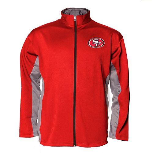 quality design 2b780 0e820 Big & Tall Majestic San Francisco 49ers FleeceJacket