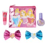 Disney Princess Nail Polish, Bows & Lip Gloss Set