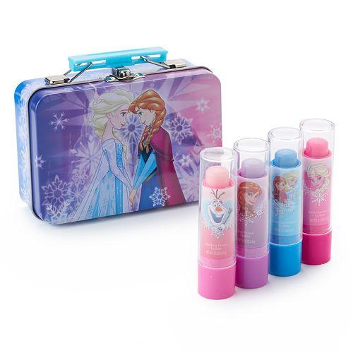 Disney's Frozen Girls 4-pk. Lip Balm & Tin