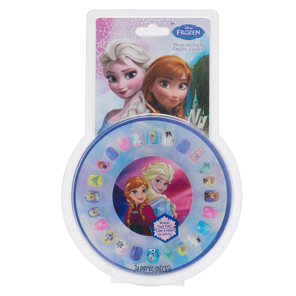 Disney's Frozen Girls 24-pc. Press-On Nails & File Set