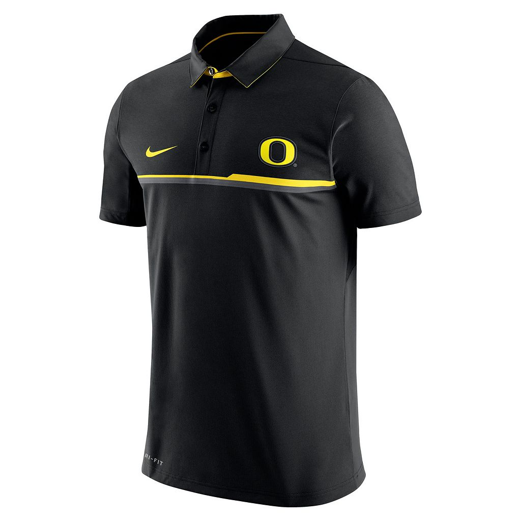 Men's Nike Oregon Ducks Elite Coaches Dri-FIT Performance Polo