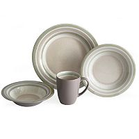 Baum Color Stack 16-pc. Dinnerware Set