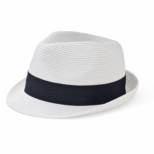 Women's SONOMA Goods for Life™ Straw Ribbon Fedora