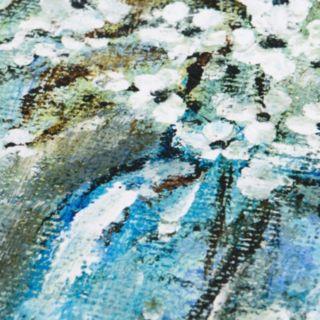 Madison Park Burlap Blossoms Gel Coat Canvas 2-pc. Wall Art Set