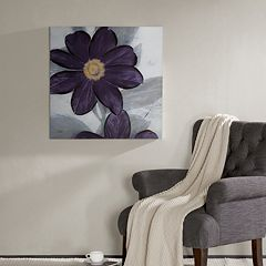 Madison Park Midnight Bloom Wall Art