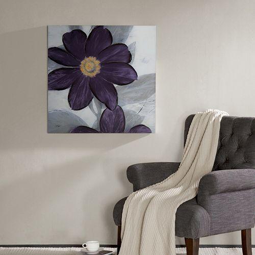 Madison Park Midnight Bloom Wall Art